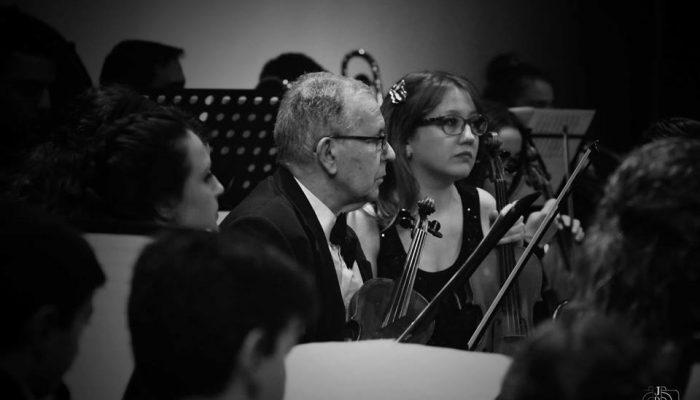 Concierto de Año Nuevo EMML cuerda de violines
