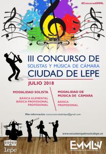 III Concurso Ciudad de Lepe musica emml cultura camara solista