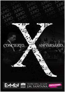 Concierto emml decimo aniversario escuela musica lepe teatro cultura ayuntamiento