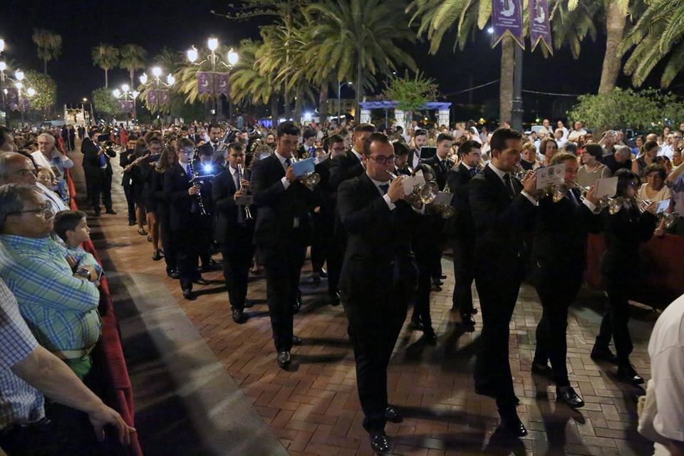 procesión extraordinaria Nuestra Señora del Mayor Dolor Ayamonte EMML
